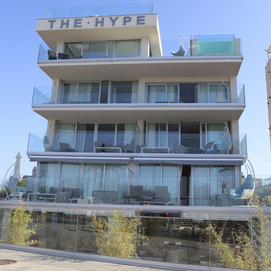 Fotografía fachada Hotel The Hype