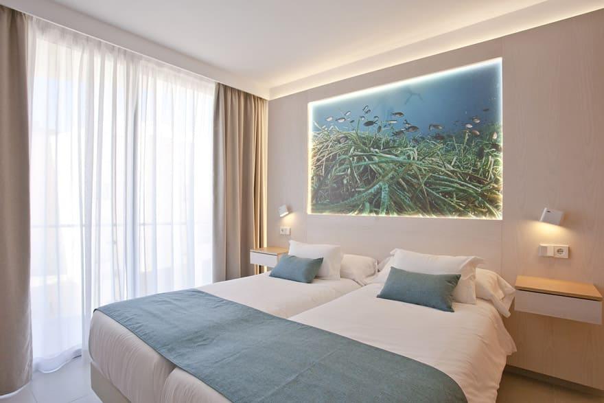 Zona habitación Apartaments Posidonia
