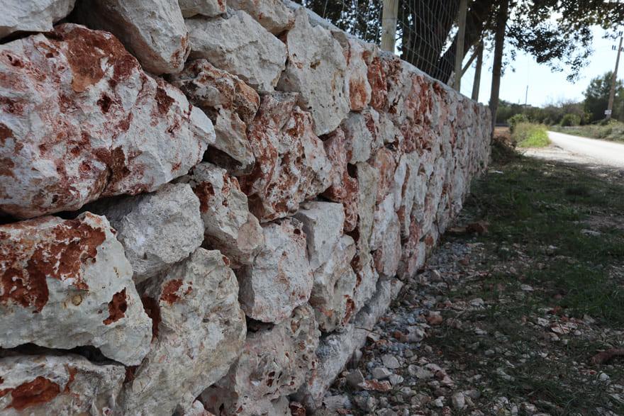 Muro finca rural