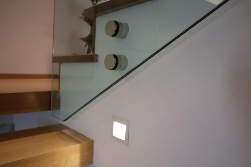Detalles construcción escalera