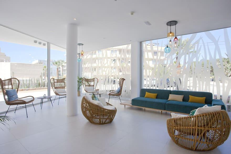 Zona interior Apartaments Posidonia